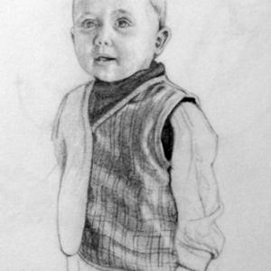 Drawing of Ben - by Tom Wheeler